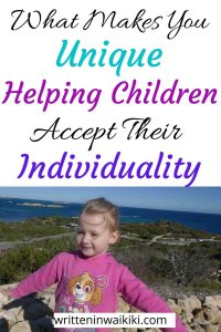 what makes you unique. Helping children accept their individuality pinterest
