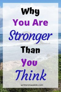 why you are stronger than you think pinterest